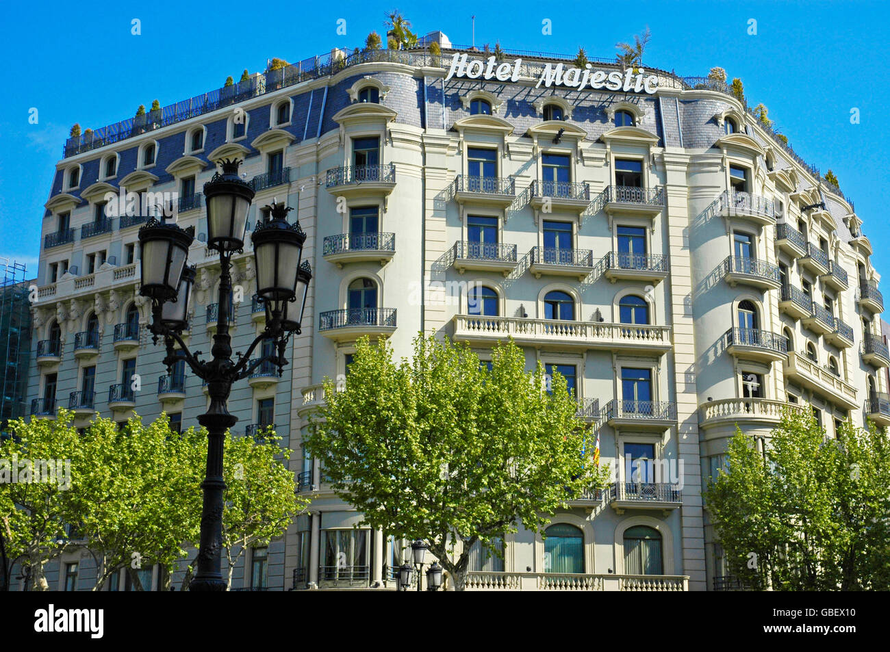 Me hotel barcelona buildings stock photos me hotel for Hotel gracia barcelona