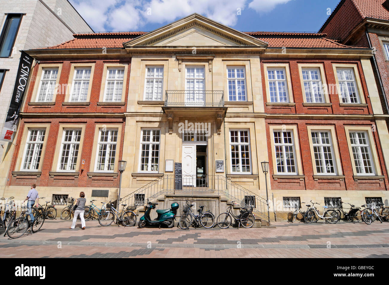 Pablo Picasso, Museum of Graphic Art, art museum, Muenster, Muensterland, North Rhine-Westphalia, Germany / Münsterland, - Stock Image