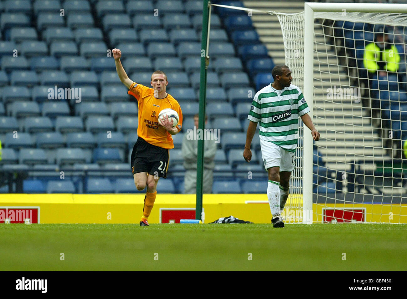 Soccer Tennents Scottish Cup Semi Final Livingston V Celtic Stock Photo Alamy
