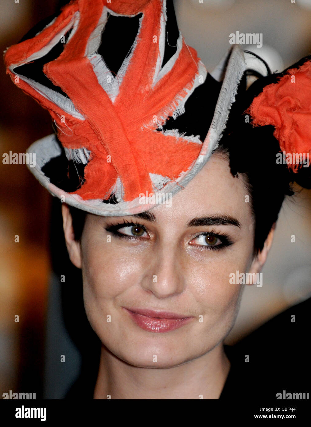 Hats  An Anthology by Stephen Jones exhibition Stock Photo ... 81c81944d0f