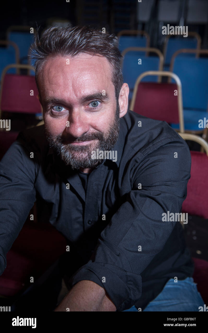 Respected UK comedian Gordon Southern . Pictured @ The Rose and Crown pub Walthamstow part of Red Imp comedy festival - Stock Image