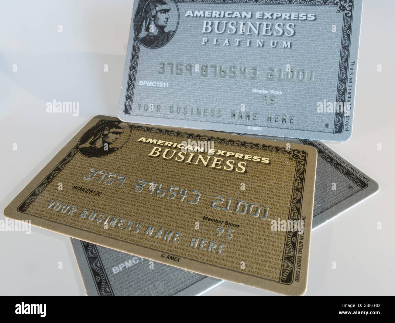 American express business credit cards stock photo 110364169 alamy american express business credit cards colourmoves