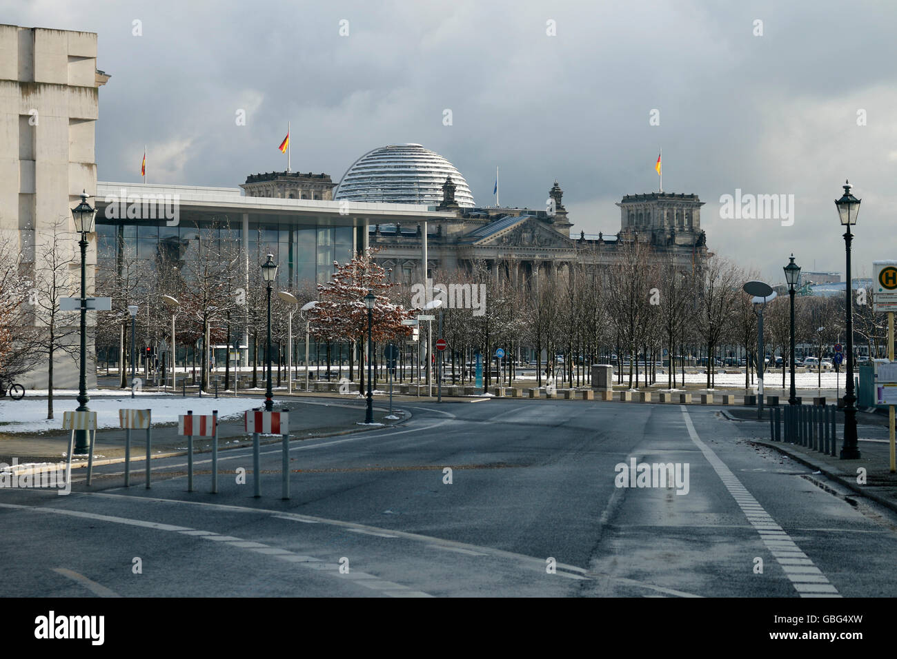Reichstag, Berlin. - Stock Image