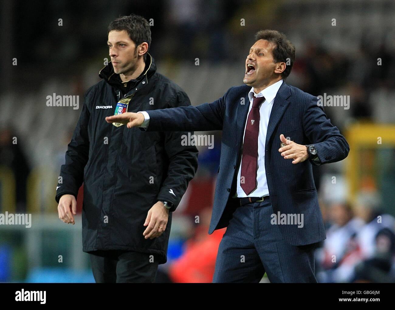 Soccer - Italian Serie A - Torino v Juventus - Olimpico di Torino Stock Photo