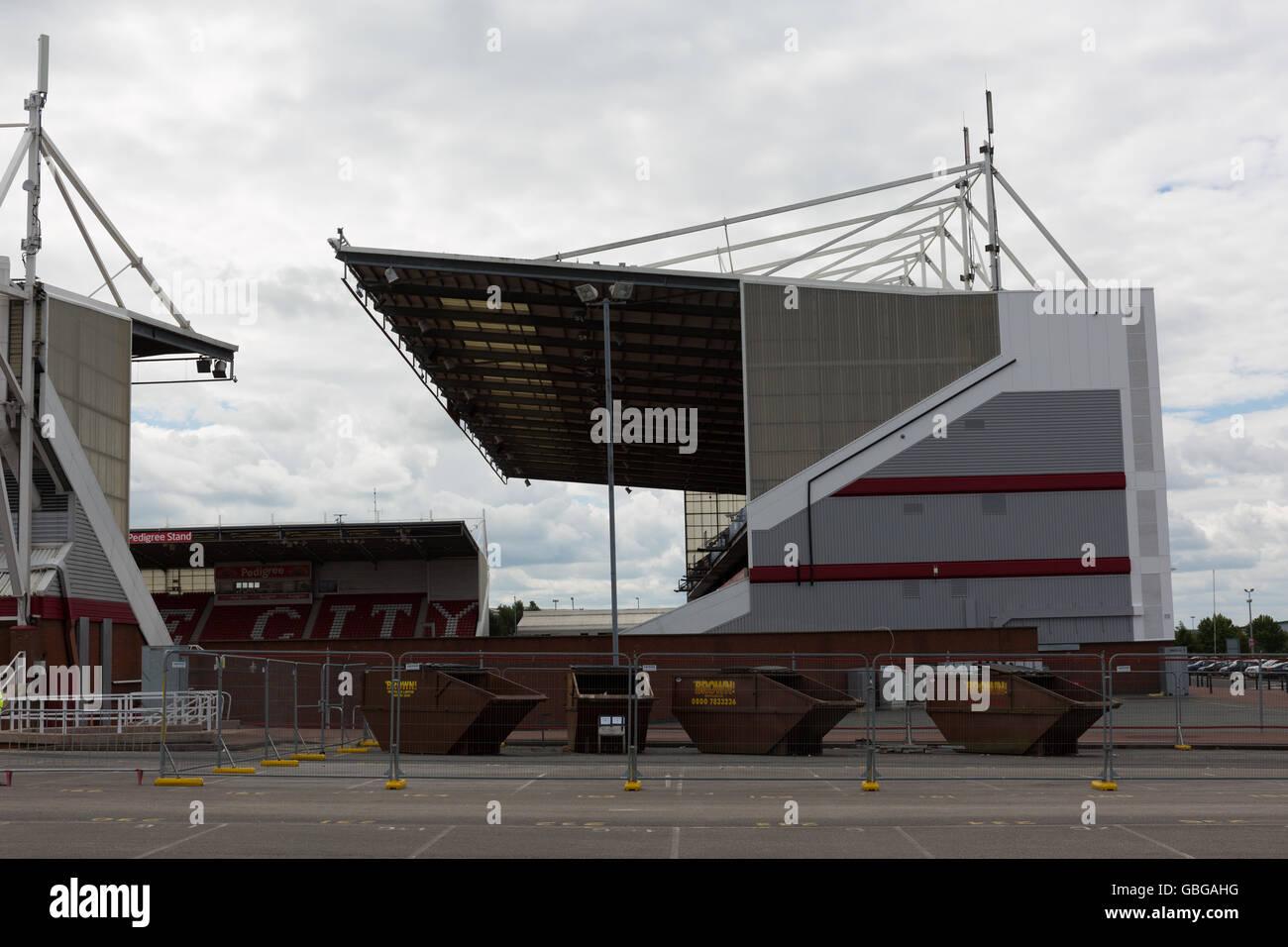 The Britannia Stadium, Stoke City - Stock Image
