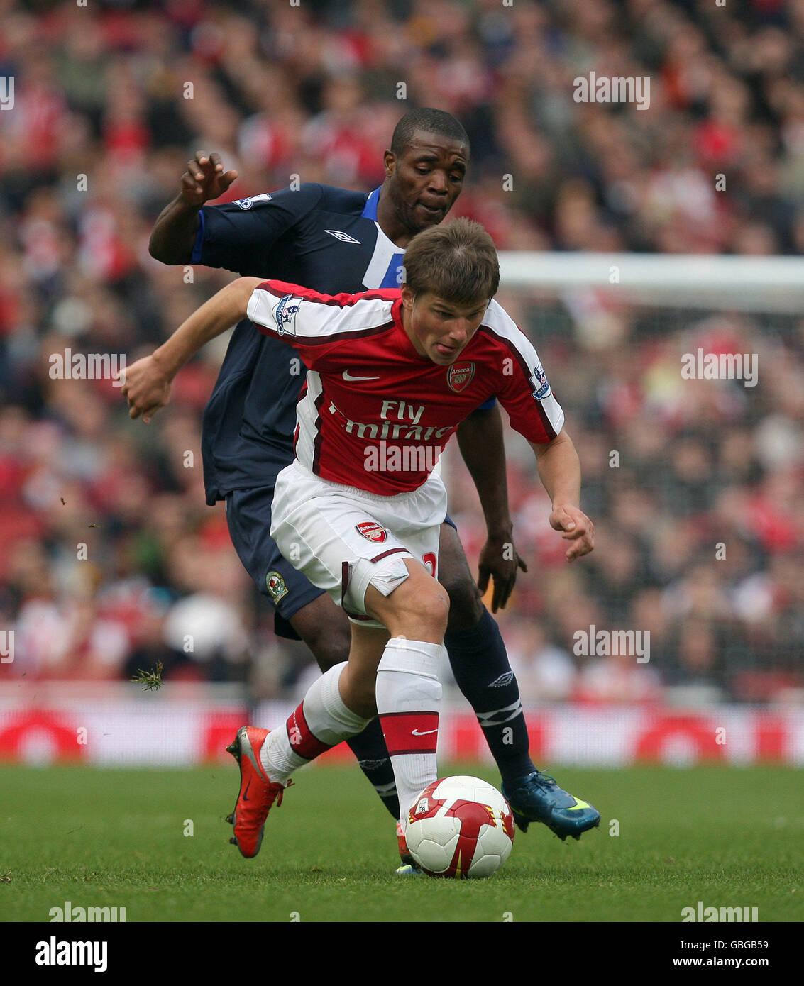 Soccer - Barclays Premier League - Arsenal v Blackburn Rovers - Emirates Stadium - Stock Image