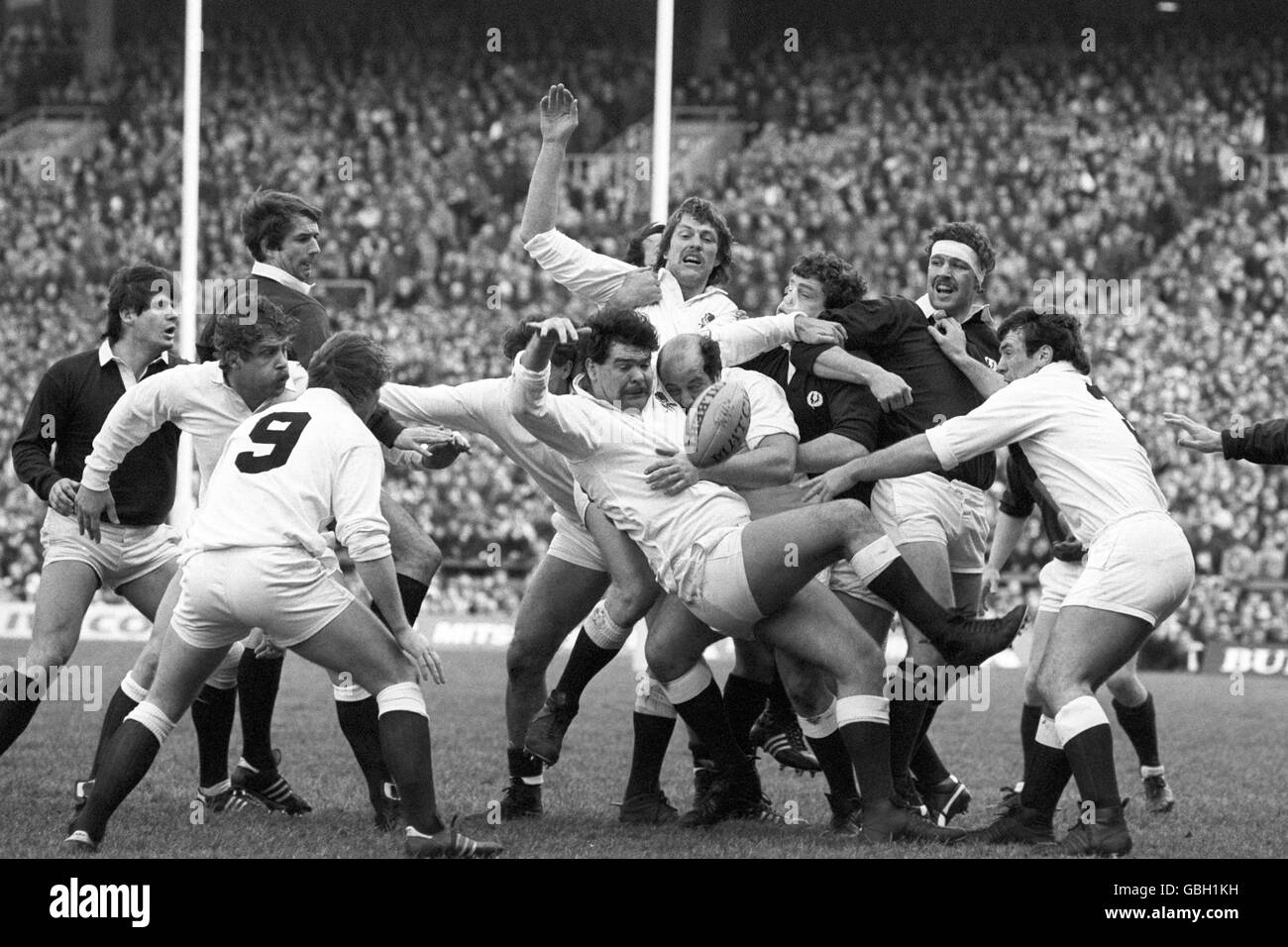 Rugby Union - Five Nations Championship - Calcutta Cup - England v Scotland - Twickenham - Stock Image