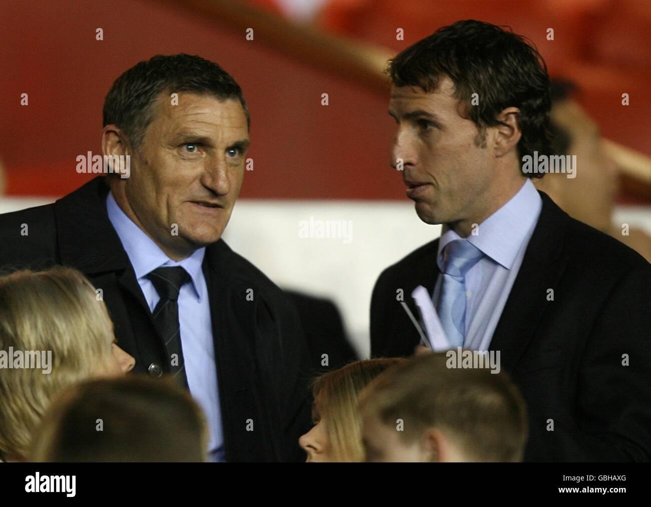 Soccer - Under 21 International Friendly - England v France - City Ground - Stock Image