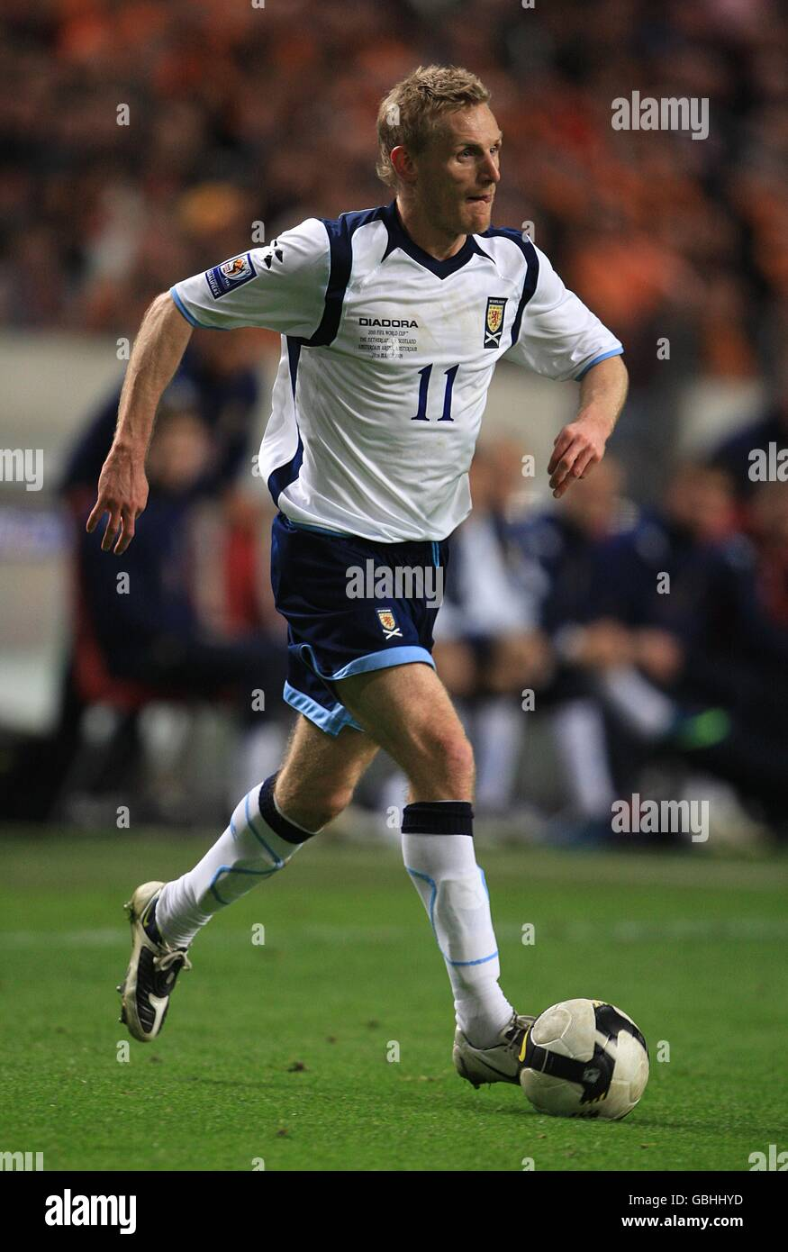 Soccer - FIFA World Cup 2010 - Qualifying Round - Group Nine - Holland v Scotland - Amsterdam ArenA - Stock Image