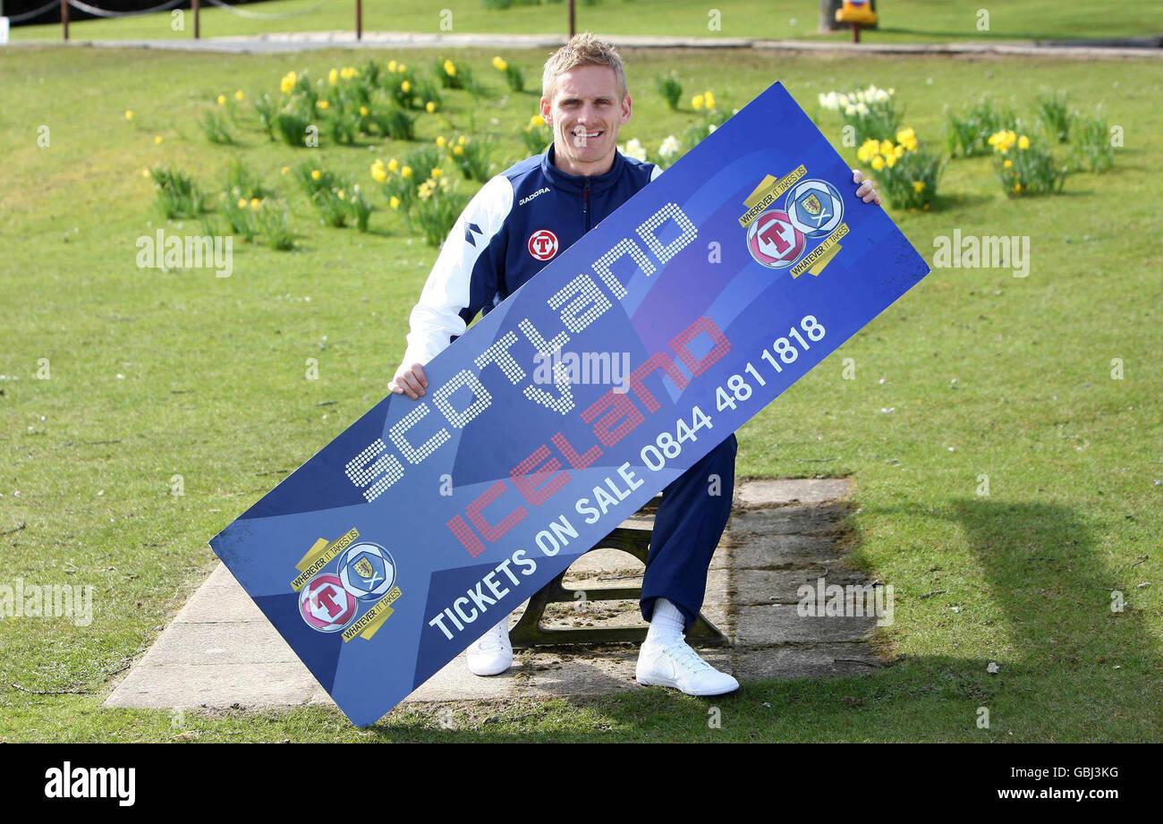 Soccer - Scotland Media Day - Cameron House - Stock Image