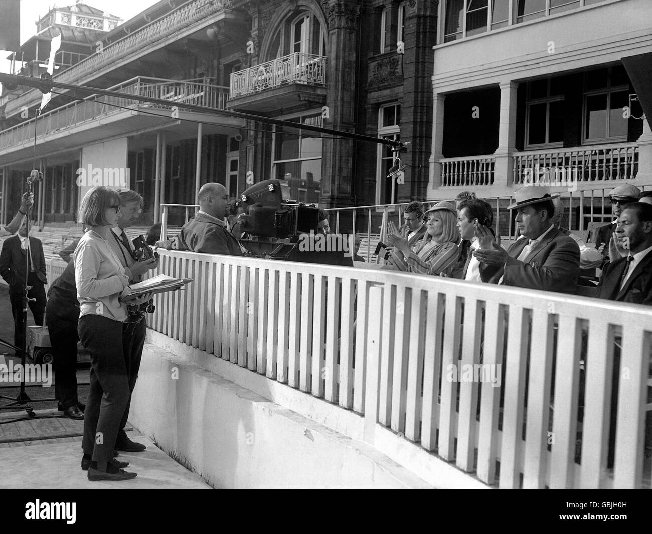 Entertainment - Filming of 'Darling' - Lord's Cricket Ground - Stock Image