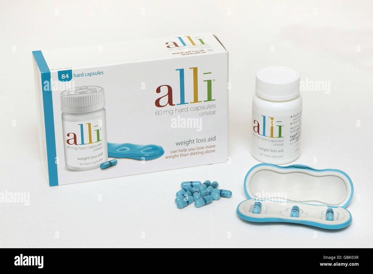Alli Diet Pills Stock Photo 110440619 Alamy