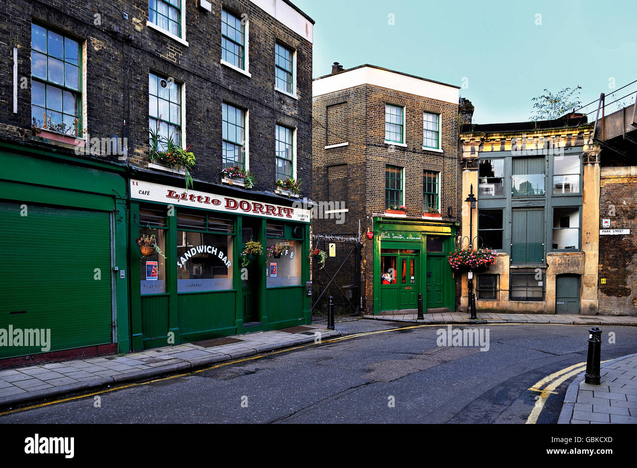 Borough Market, London, England, United Kingdom, Europe - Stock Image