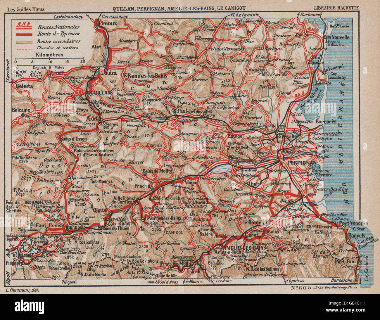 Street Map Of Quillan France.Quillan Pyrenees Stock Photos Quillan Pyrenees Stock Images Alamy