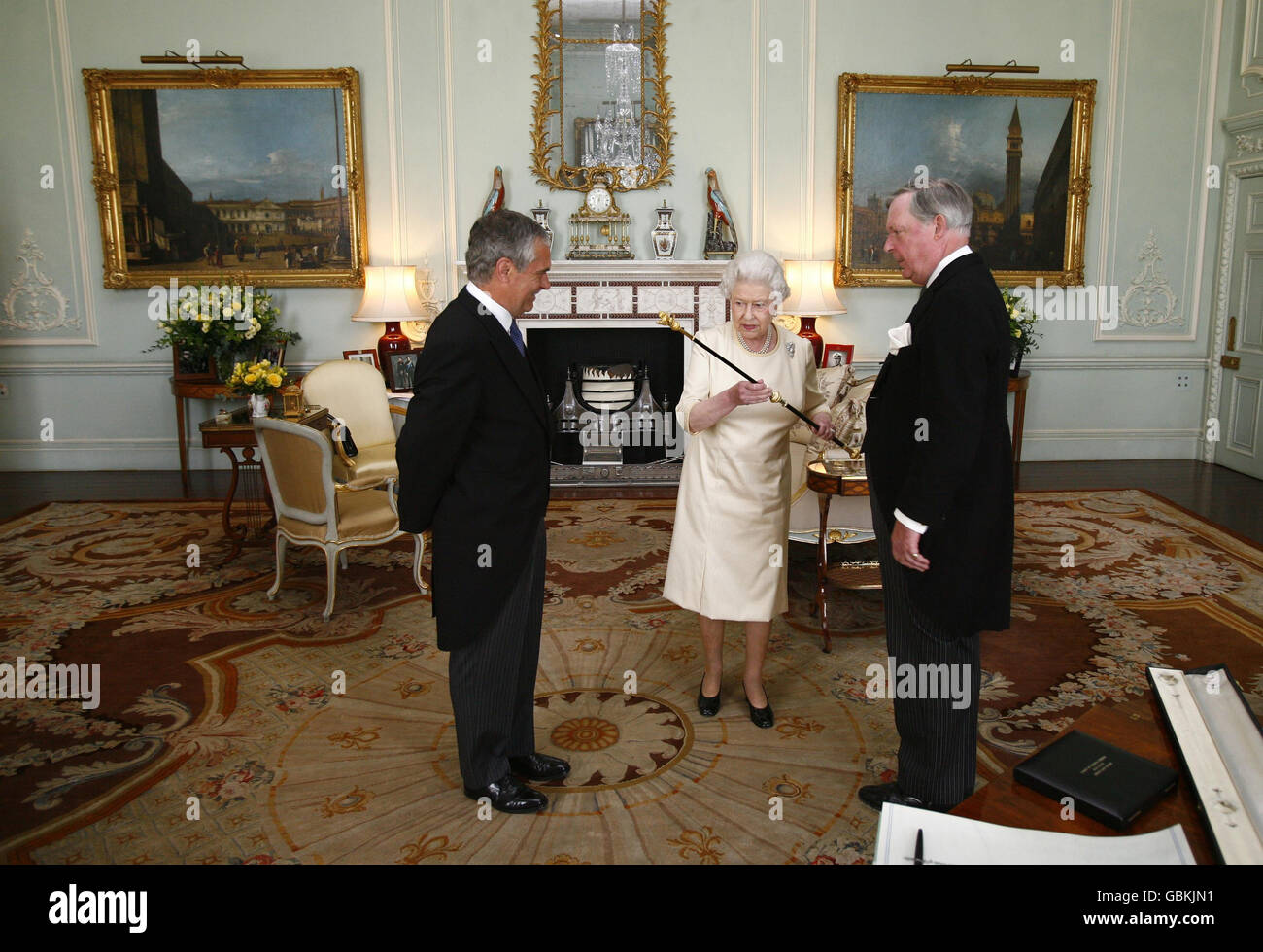 Black Rod appointed Stock Photo