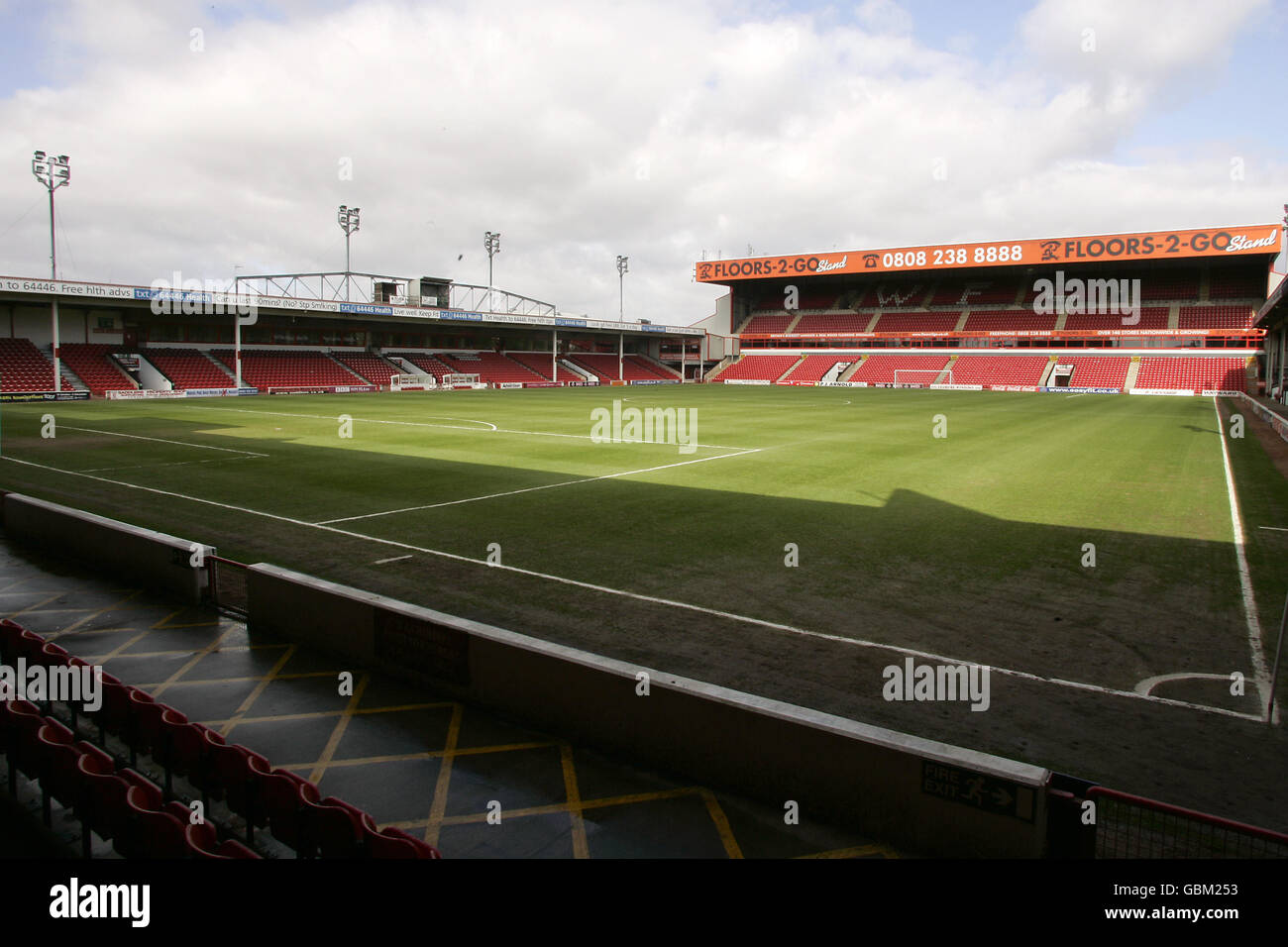 Soccer - Coca-Cola Football League One - Walsall v Bristol Rovers - Banks's Stadium - Stock Image