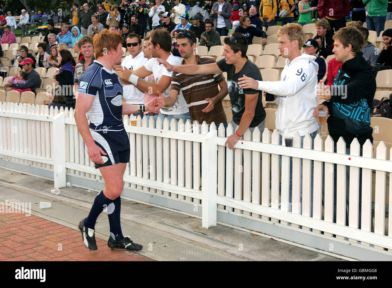Rugby Union - IRB Rugby World Cup Sevens 2009 - Sheild Final - USA v Scotland - The Sevens - Stock Image