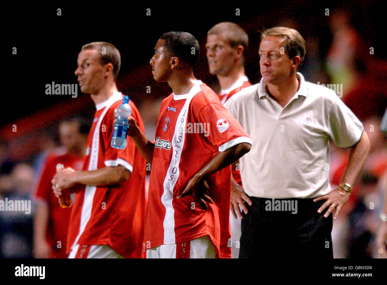 Soccer - Friendly - Charlton Athletic v Chievo Verona - Stock Image