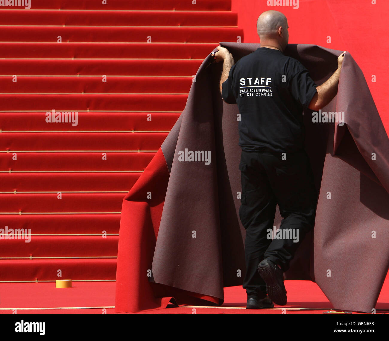 The 62nd Annual Cannes Film Festival - General Atmosphere - France Stock Photo