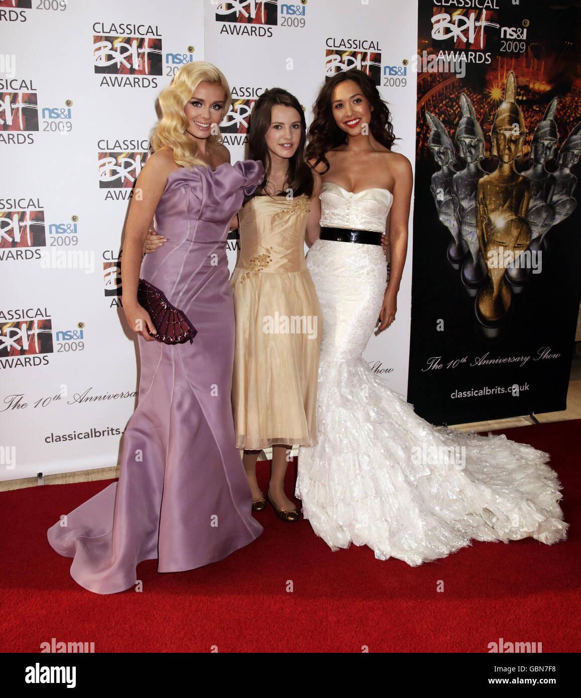 Classical Brit Awards 2009 - London - Stock Image