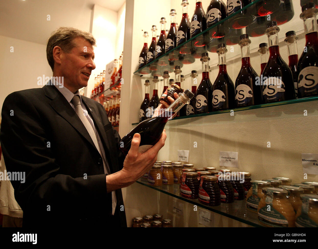 Distilleries and breweries exempt from alcohol displays laws - Stock Image