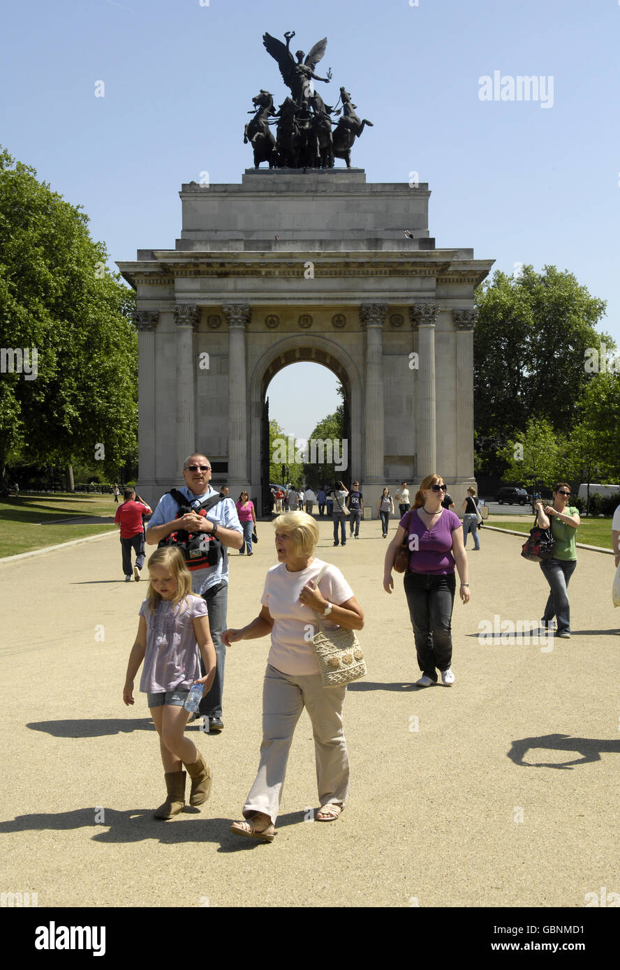 Weather - Summer - Heat Wave - London - Stock Image