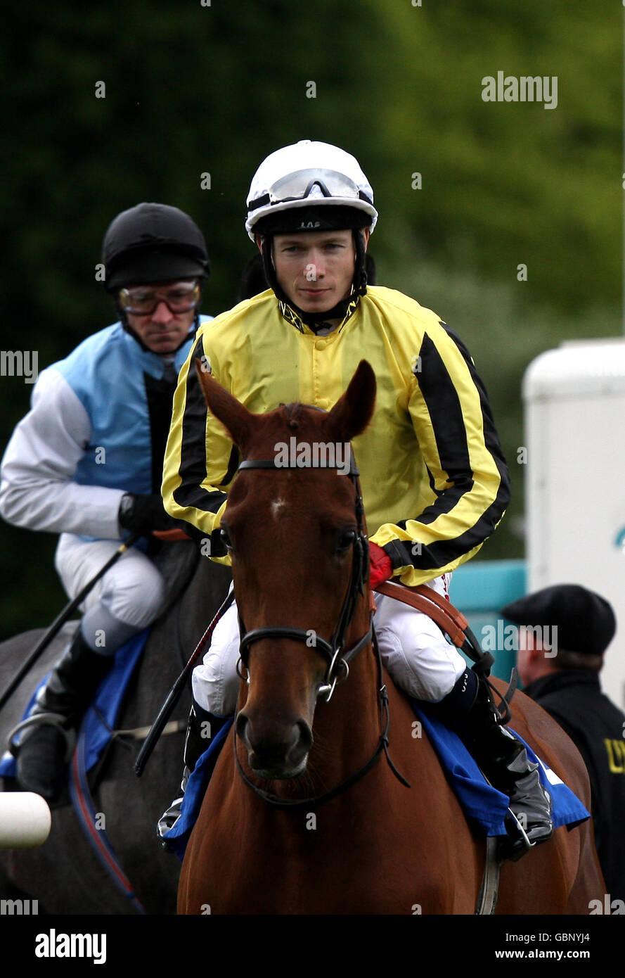 Horse Racing - Nottingham Racecourse - Stock Image