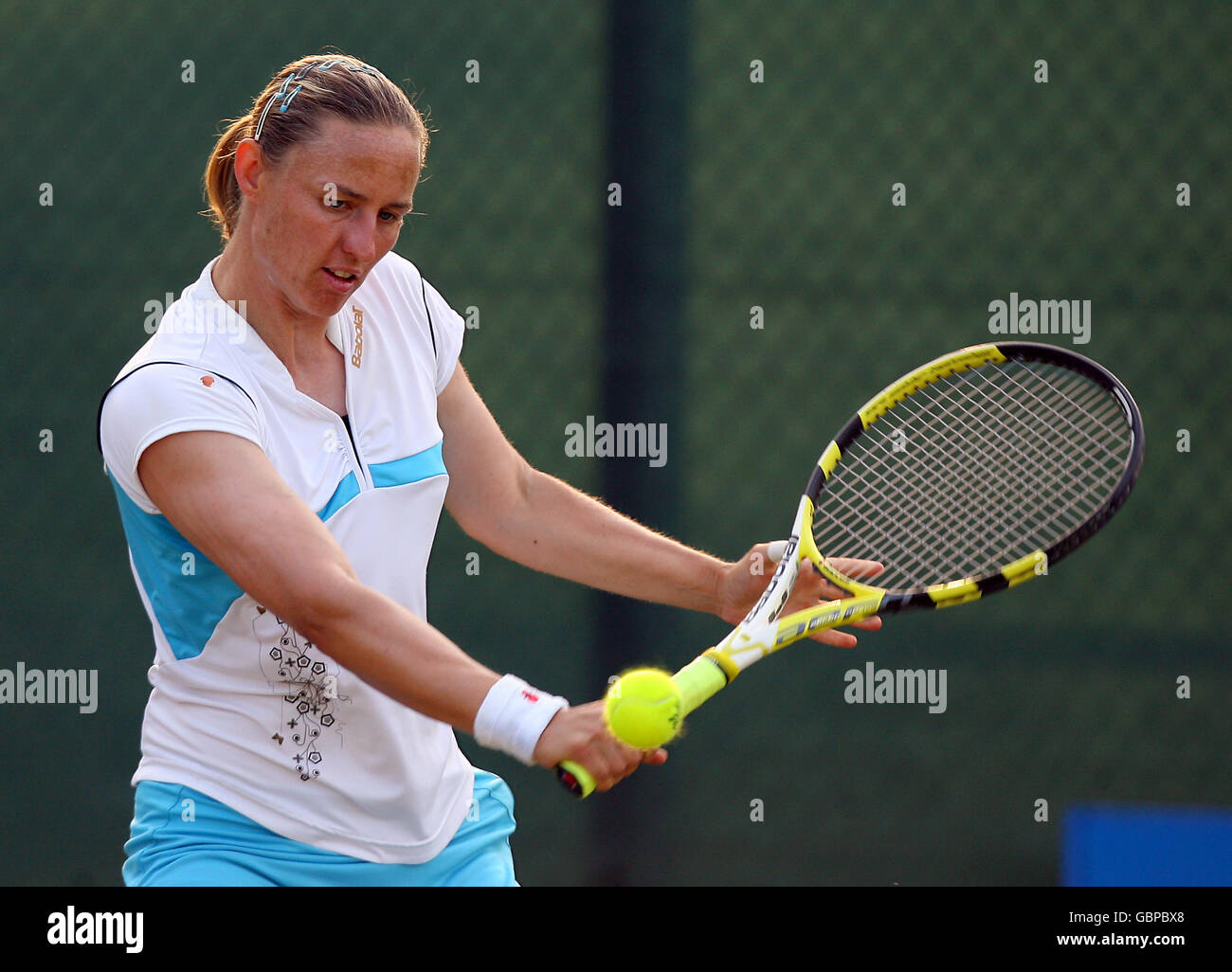 Tennis - The AEGON Trophy 2009 - Day Three - Nottingham Tennis Centre - Stock Image