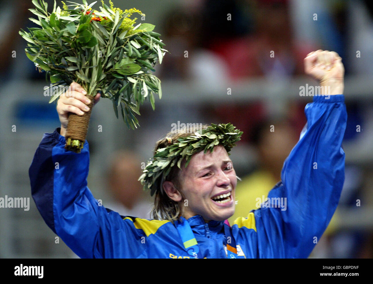 Wrestling - Athens Olympic Games 2004 - Women's 48KG - Final - Stock Image
