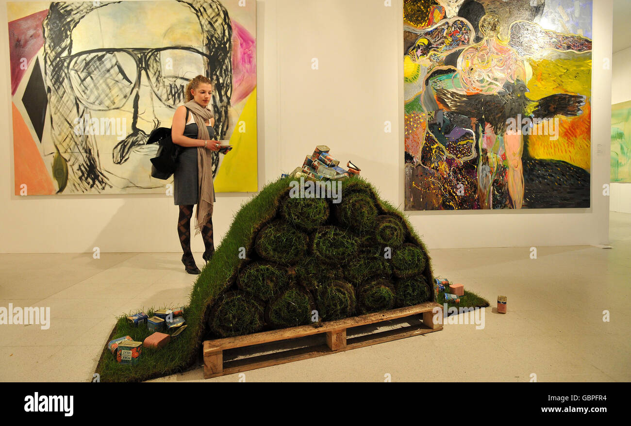 Royal College Of Arts Graduate Exhibition Stock Photo Alamy
