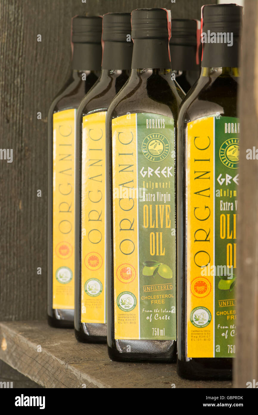Borakis Greek Olive Oil - Stock Image