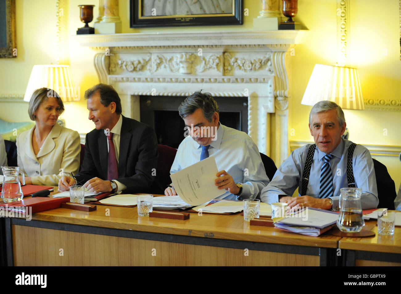 Cabinet meeting Stock Photo