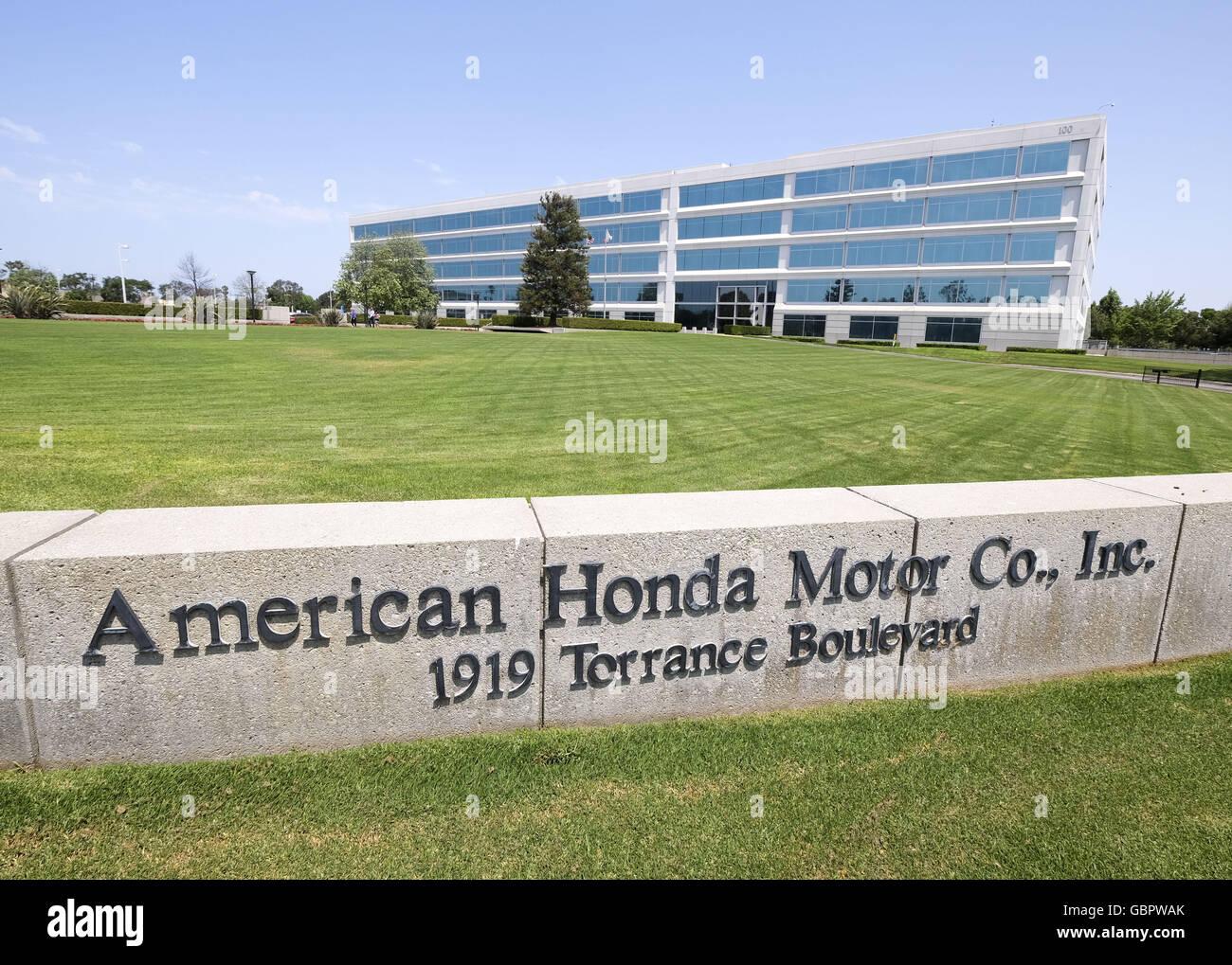 Los Angeles, California, USA. 21st June, 2016. American Honda Motor Co