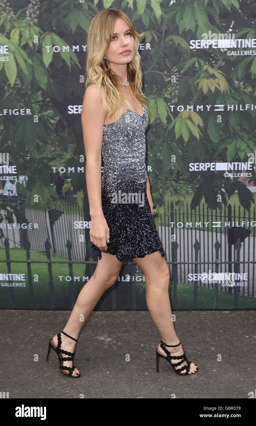 London, UK. 6th July, 2016. Georgia May Jagger attending The Serpentine Summer Party 2016 Co-Hosted By Tommy Hilfiger - Stock Image
