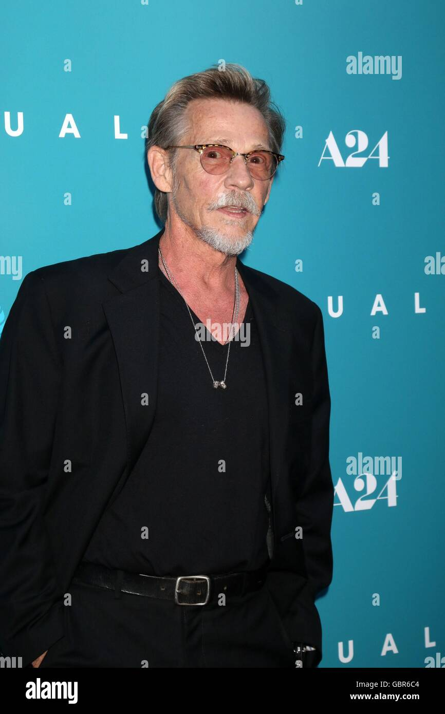 Los Angeles, CA, USA. 7th July, 2016. Dennis Christopher at arrivals for EQUALS Premiere, Arclight Hollywood, Los Stock Photo