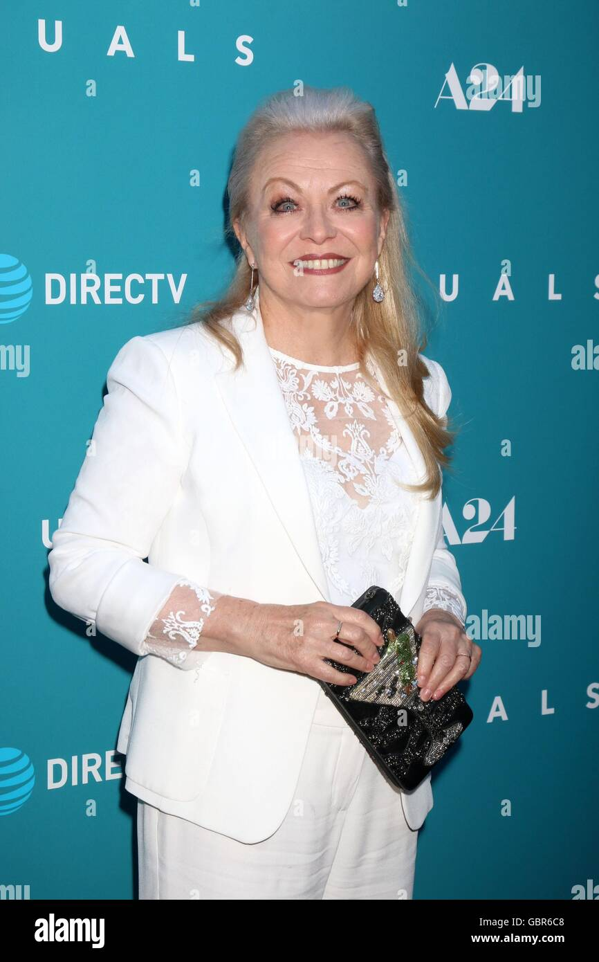 Los Angeles, CA, USA. 7th July, 2016. Jacki Weaver at arrivals for EQUALS Premiere, Arclight Hollywood, Los Angeles, Stock Photo