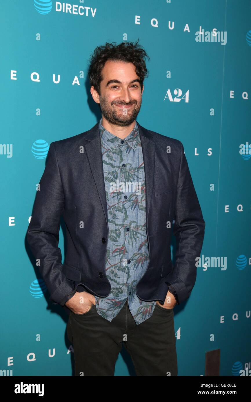 Los Angeles, CA, USA. 7th July, 2016. Jay Duplass at arrivals for EQUALS Premiere, Arclight Hollywood, Los Angeles, Stock Photo