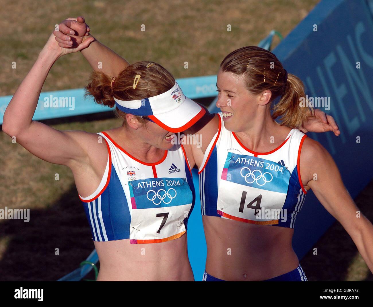 Modern Pentathlon - Athens Olympic Games 2004 - Womens Modern Pentathlon - Stock Image