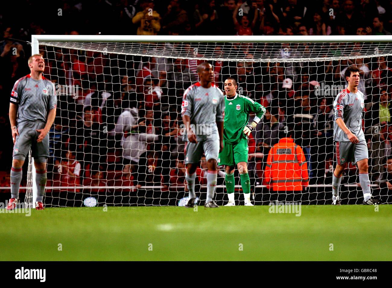 Soccer - FA Cup - Final - First Leg - Arsenal v Liverpool - Emirates Stadium - Stock Image