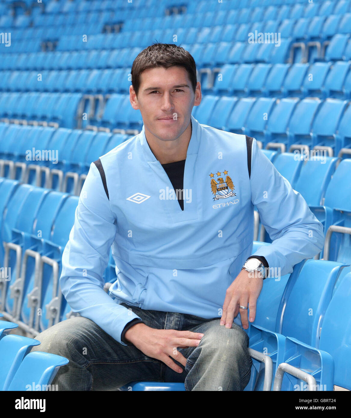 Soccer - Gareth Barry Press Conference - City of Manchester Stadium