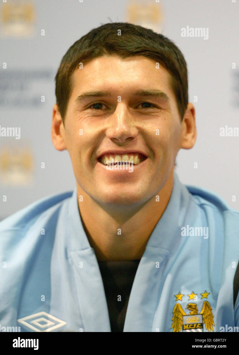 Soccer - Gareth Barry Press Conference - City of Manchester Stadium - Stock  Image