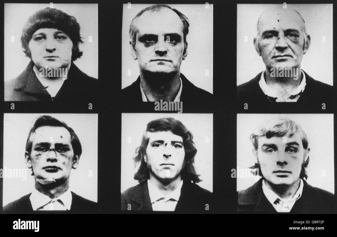 Crime - Birmingham Six - Stock Image