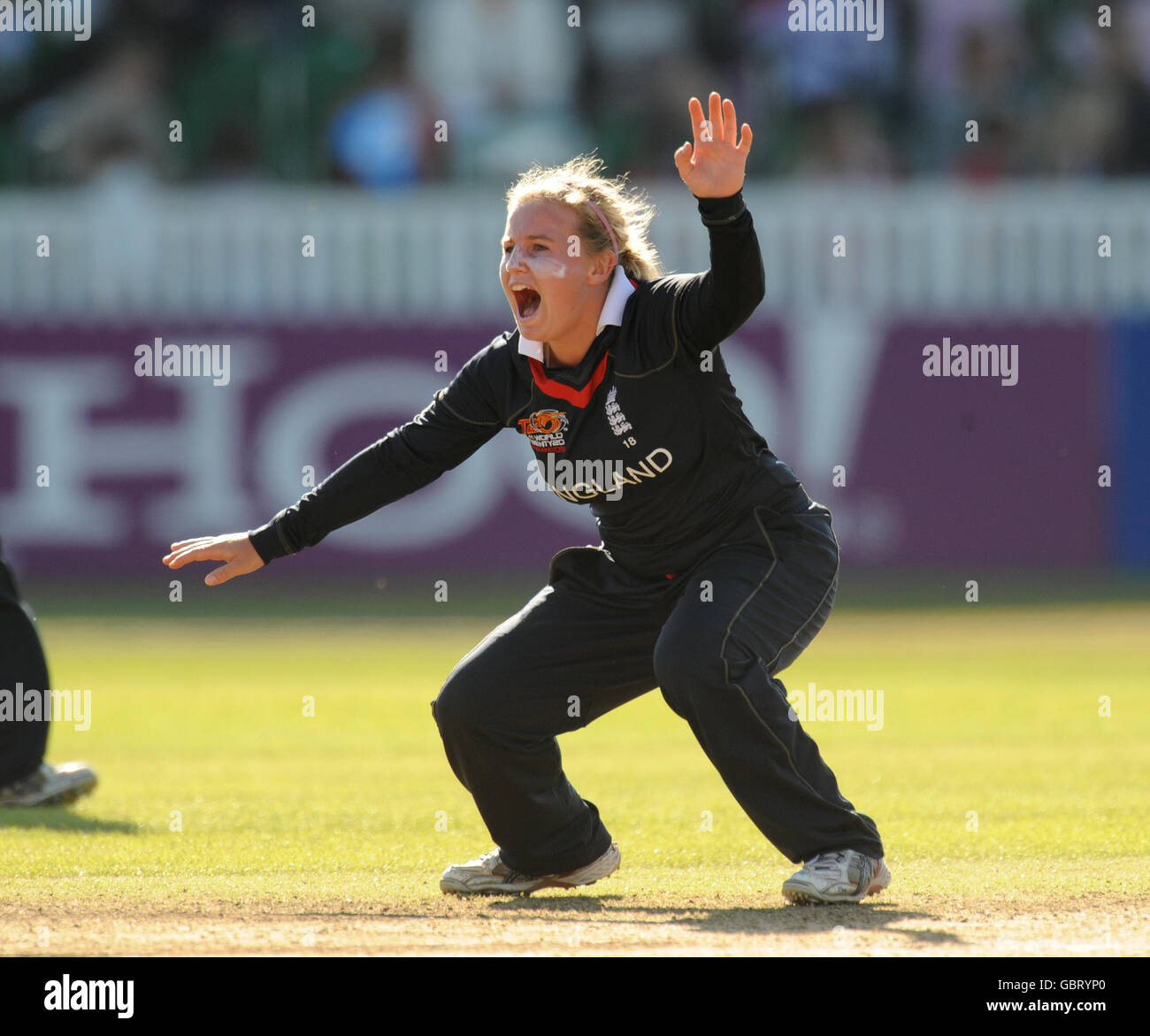 Cricket - ICC Women's World Twenty20 Cup 2009 - England v Pakistan - Taunton - Stock Image