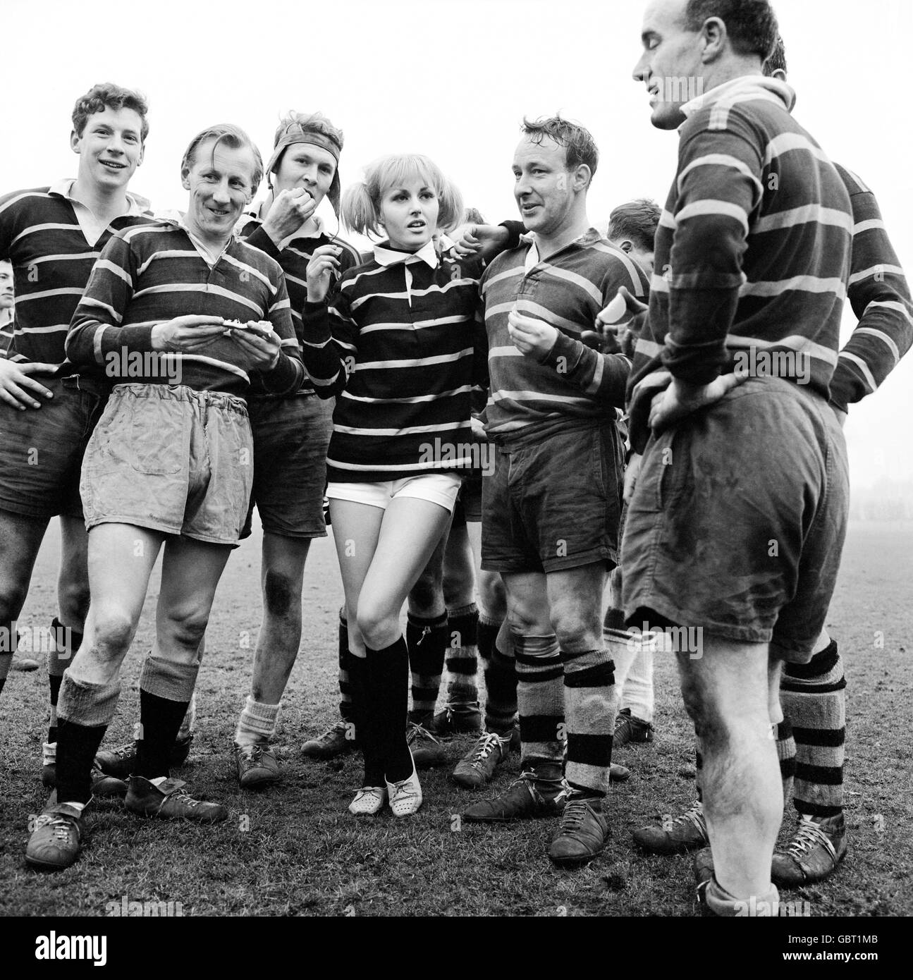 Rugby Union - Stock Image