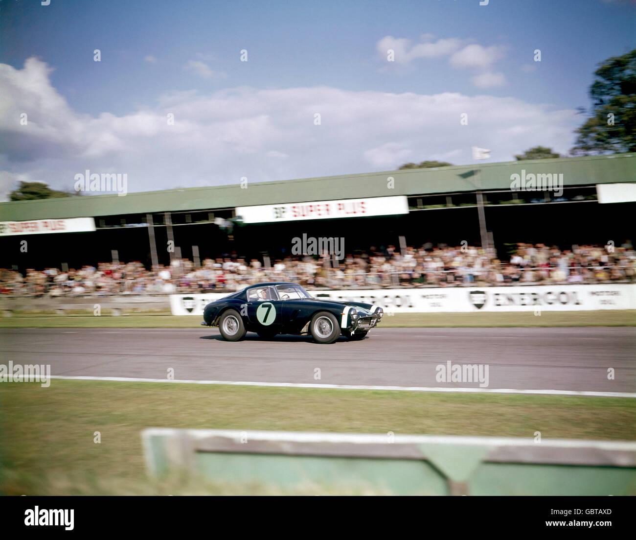 Motor Racing - RAC Tourist Trophy Race - Goodwood - Stock Image