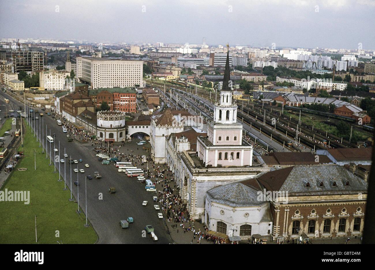 Kazan Station. Metro station Komsomolskaya 22