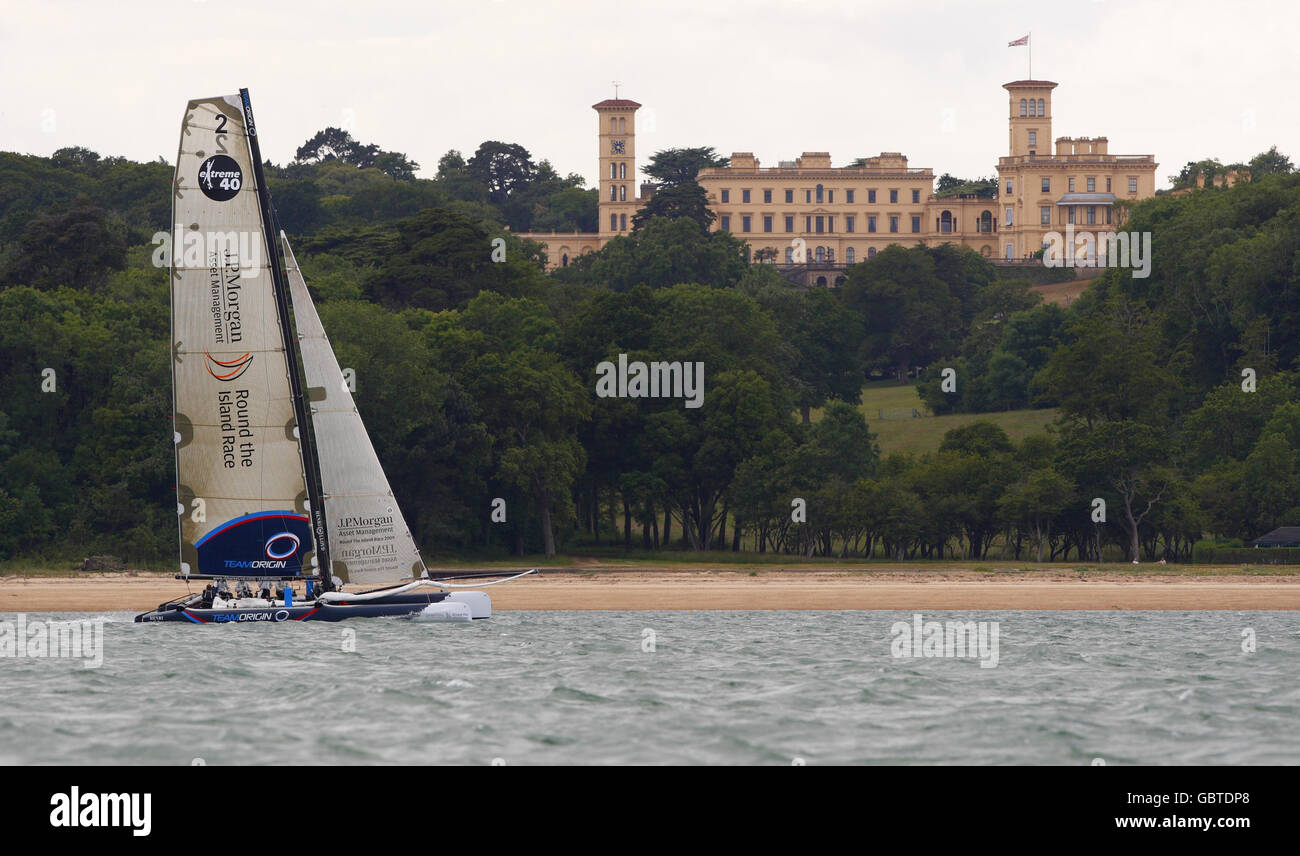 Sailing - Round The Island Preview - Ben Ainslie Photocall - Island Sailing Club Stock Photo