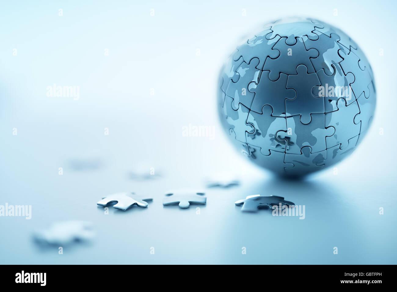 Global strategy - Stock Image