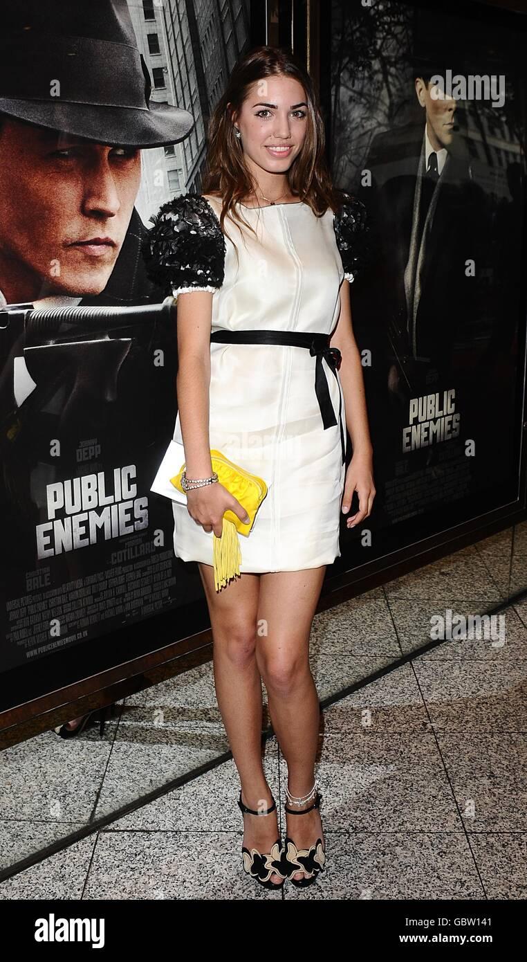 Public Enemies Premiere - London - Stock Image