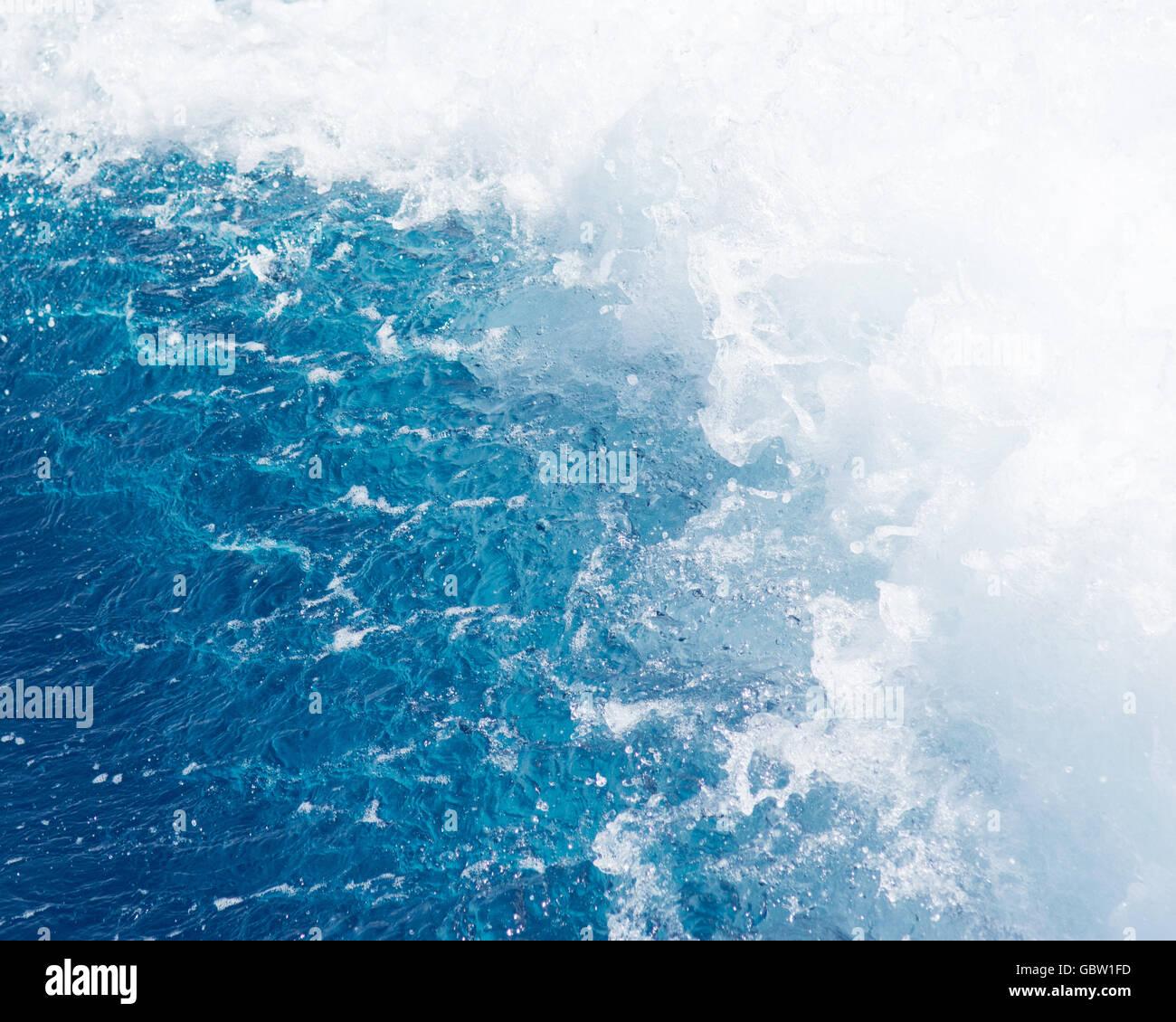 sea ocean background - Stock Image